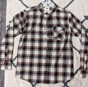 "Levi's Button-Down Plaid Shirt - ""Like New!"""